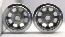 CB DESIGN 0705 F1 SILVER ALUMINUM WHEELS 14x12 FOR 3/32 AXLES 1/32 SLOT CAR PART