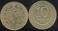 10 francs 1987  MILLENAIRE CAPETIEN  ( bis )