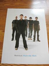 RADIOHEAD Hail to the thief promo poster 18x23