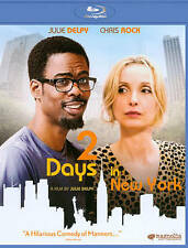 2 Days in New York (Blu-ray, 2012, WS) Julie Delpy, Chris Rock  NEW