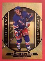 2020-21 Upper Deck Tom Hortons Gold Etchings #G-11 Artemi Panarin NY Rangers