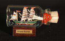 Rickmer Rickmers Mini Buddelschiff 10 ml 5x2 cm original Flaschenschiff Handmade