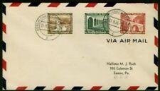 Germany 1936 FDC Semipostals, rare prewar FDC