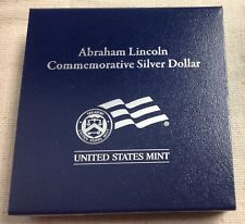 2009-P US Mint Abraham Lincoln Commemorative Silver Dollar-Proof