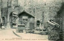 13638876 Mont-Saint-Michel porte de l' avancée et les hichelettes Mont-Saint-Me