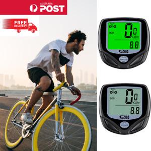 Wireless Bicycle Cycle Bike Computer Speedometer Odometer Meter Waterproof