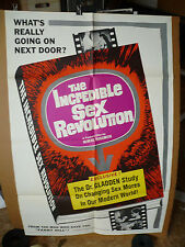 INCREDIBLE SEX REVOLUTION, orig 1-sh / movie poster ()  1965 / Exploitation