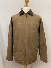 Men's | Douglas The Business Weekend Wear Jacket Leather Trim | Brown | Size 38
