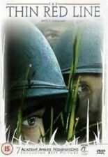 The Thin Red Line 1998 Terrence Malick World War 2 Masterpiece R1 DVD