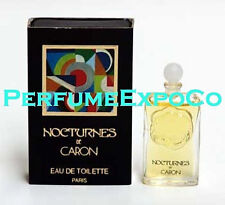 Nocturnes de Caron Perfume for Women 0.16oz / 5ml EDT VINTAGE Miniature (BK01