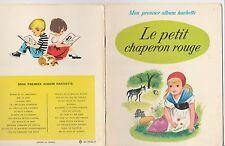 Le petit chaperon rouge Romain Simon