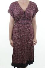 Monsoon Short Sleeve Floral Regular Size Dresses for Women