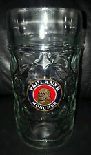 RARE COLLECTABLE PAULANER MUNCHEN 1 LITRE BEER MUG STEIN BRAND NEW NEVER USED