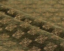 Ethnic fabric upholstery Kilim tapestry southwestern boho damask green textile