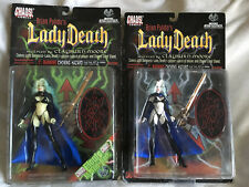 Moore Action Collectibles Lady Death Glow In The Dark Variant + Original Nib
