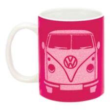 VW Camper Mug Pink Glitter