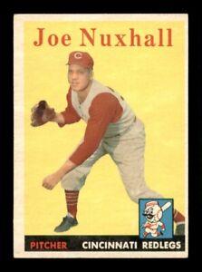 1958 Topps Set Break # 63 Joe Nuxhall EX *OBGcards*