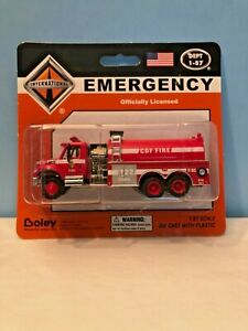 Boley #4509-11 California Department of Forestry Red Fire Water Tanker (Retired)