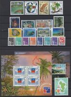 BG142567/ MAYOTTE –Y&T # 62 / 80 - BF1 / BF2 - PA4 MINT MNH – COMPLETE YEAR 1999