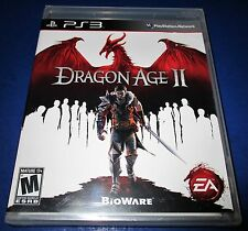 Dragon Age II Sony PlayStation 3 *Factory Sealed! *Free Shipping!