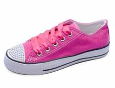 Chaussures de tennis blanc à lacets pour fille de 2 à 16 ans