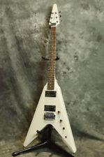 Tokai Super Edition FV White, Flying V type Electric Guitar, o8756