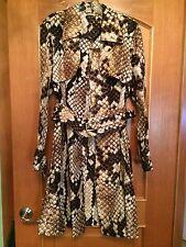 100 % Authentic ROBERTO CAVALLI Womens Trench Coat