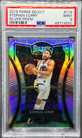Stephen Curry 2019-20 Panini Select Silver Prizm Premier Level Warriors