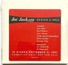 "VINTAGE 1997 JOE JACKSON & FRIENDS ""HEAVEN & HELL"" ADVANCE PROMO ONLY SEALED CD"