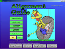 Wheel Alignment Steering & Suspension Training CD