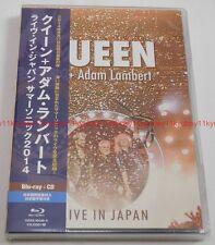 New QUEEN Adam Lambert Live in Japan Summer Sonic 2014 Blu-ray CD GQXS-90248 EMS