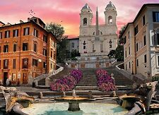 New Clementoni Romantic Italy Rome 1000 Piece Spanish Steps Jigsaw Puzzle