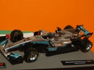 2017 Formula 1 Lewis Hamilton  Mercedes W08 1:43 Scale