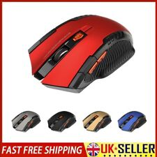 2.4GHz Wireless Cordless Mouse Mice Optical Scroll For Laptop Computer + USB UK