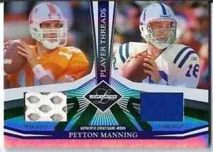 Peyton Manning 2006 Leaf Limited Dual Jersey 29/30 VOLS