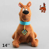 NEW Scooby Doo Soft Plush Toy Stuffed Animal Doll Cuddly Teddy 14'' Kids Gift