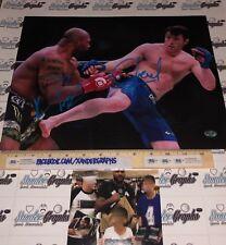 QUINTON RAMPAGE JACKSON & CHAEL SONNEN UFC MMA SIGNED 11X14 PHOTOGRAPH-PROOF COA