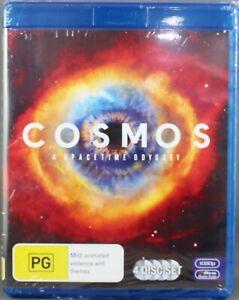 "COSMOS - A SPACETIME ODYSSEY (2014: BLU-RAY 4 DISC SET) BRAND NEW/SEALED ""REG B"""