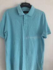 Mens Pierre Cardin Blue Polo T Shirt Size M