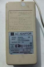 Toshiba PA2411U ORIGINALE 15 V 2 A Adattatore AC
