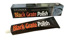 STOVAX BLACK (GRAPHITE) GRATE POLISH FOR STOVE CAST IRON BBQ FIRE BASKET