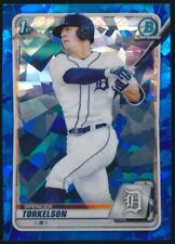 2020 BOWMAN CHROME DRAFT SAPPHIRE SPENCER TORKELSON REFRACTOR ROOKIE!