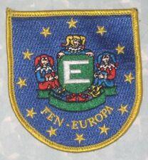 """FEN-Europa Patch - Federatie Europese Narren  - 3"""" x 3 1/8"""""""