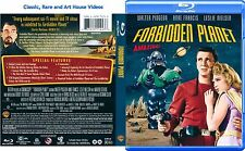 Forbidden Planet ~ Blu-ray ~ Walter Pidgeon, Anne Francis (1956) WBHE