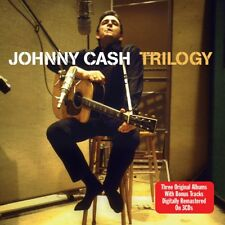 Johnny Cash - Trilogy - 3 Original Albums + Bonus Tracks (3CD 2010) NEW/SEALED