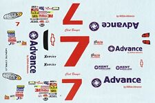 #7 Clint Bowyer Advance 2005 1/24th - 1/25th Scale Waterslide Decal