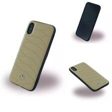 Mercedes Benz Pattern III Echt Leder Hard Cover Case schutzhülle Für iPhone X
