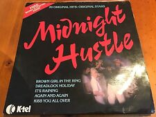 Midnight Hustle 1978 Vinyl Album with Boney M Poster.  ( Ultra Rare Pressing)