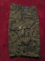 LUCKY BRAND CAMOUFLAGE PRINT CARGO STYLE SHORTS BOYS SIZE 18 NWT $44