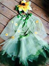 NWT POTTERY BARN KIDS SUNFLOWER FAIRY DRESS UP COSTUME kids sz 4-6 DISCONTINUED